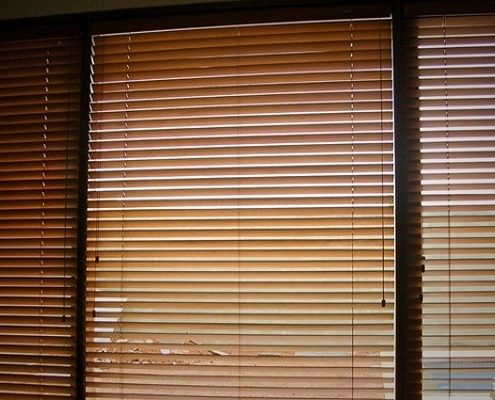 wooden blinds sharp point jakarta